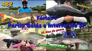 Férias, Partiu Goiás e interior de SP - Fishingtur na TV 482