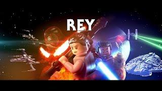 LEGO Star Wars: Das Erwachen der Macht - Rey Charakter Trailer (2016) Deutsch