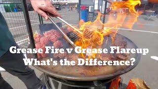 BBQ Grease Fire v Grease Flareup - What's the Difference | Pitmaster Harry Soo | SlapYoDaddyBBQ.com
