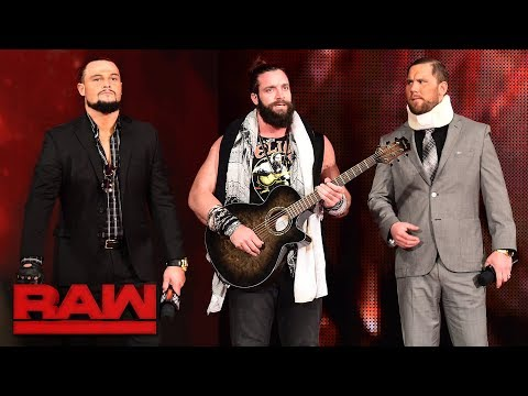 Elias steps up to Roman Reigns: Raw, Nov. 27, 2017