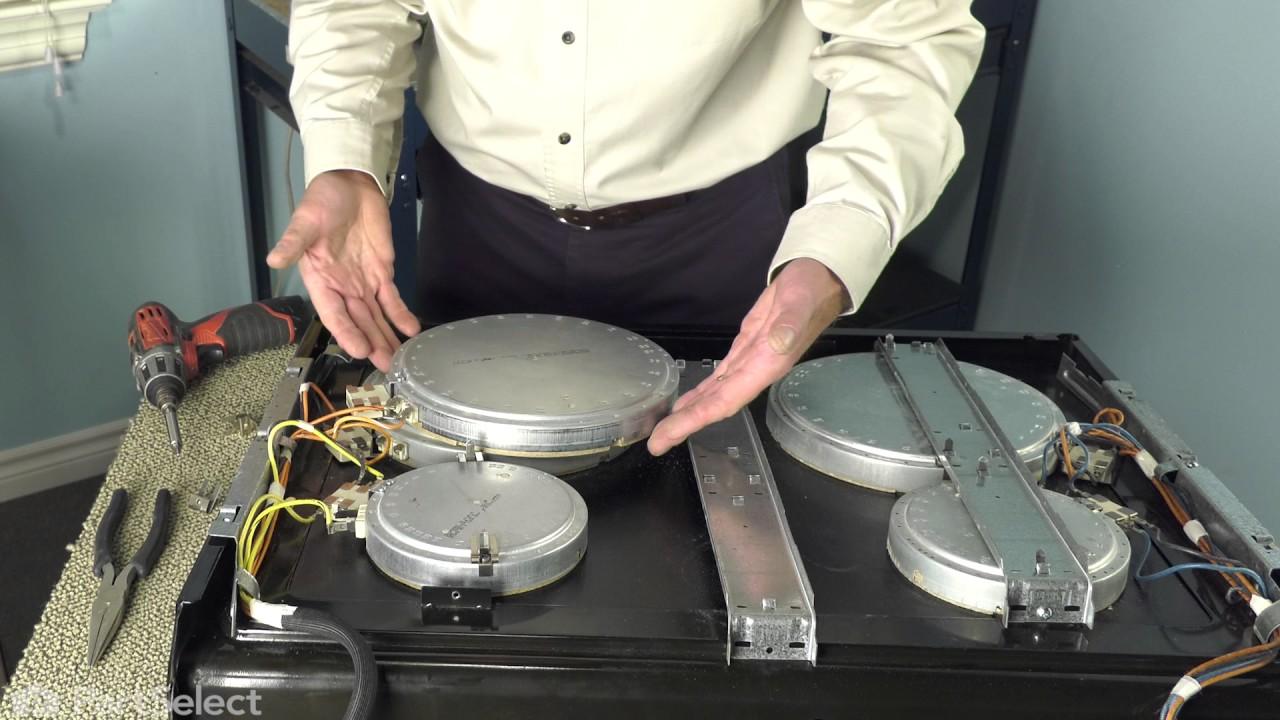 Replacing your KitchenAid Range Dual Surface Element - 2500w/1200w
