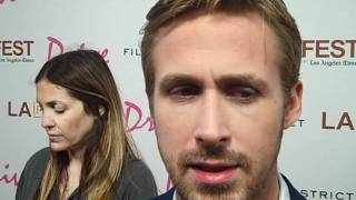 Ryan Gosling at the 'Drive' premiere