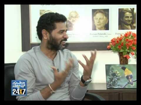 Seg _1 - Prabhu deva with Suvarna News - 28 Aug 12 - Suvarna News