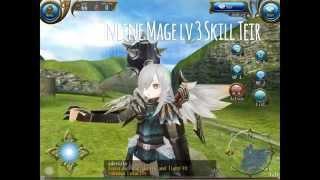 Toram Online Mage lv 3 Skill Teir