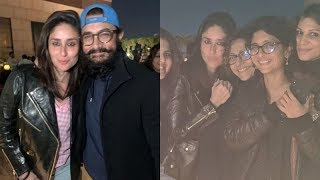 Kareena Kapoor Khan, Aamir Khan, Kiran Rao Party On A Nippy Night In Punjab | SpotboyE