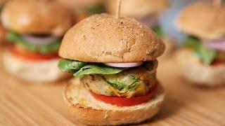 Veg Burger | Mini Veg Sliders | Tasty Snack Recipe By Ruchis Kitchen