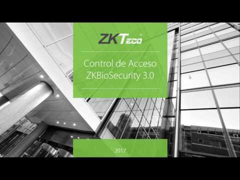 ZKTeco  Softwares de Control de Acceso