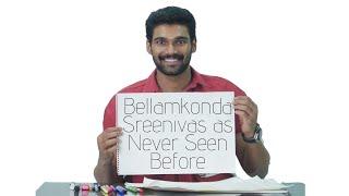 Bellamkonda Sreenivas Fun Side || Coffee in a Chai Cup