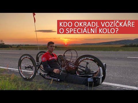 Handicapovaného sportovce okradli o speciální kolo. Pojďme Petrovi pomoct najít jeho handbike!