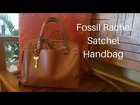 What's In My Bag? Fossil Rachel Satchel Handbag