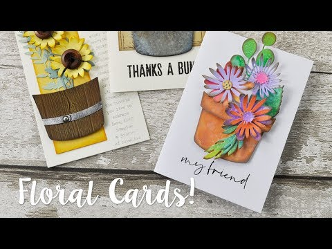 New garden themed Tim Holtz Dies - with Pete Hughes