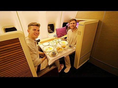 dantorp] TRIP REPORT | Thai Airways FIRST CLASS | Boeing 747-400