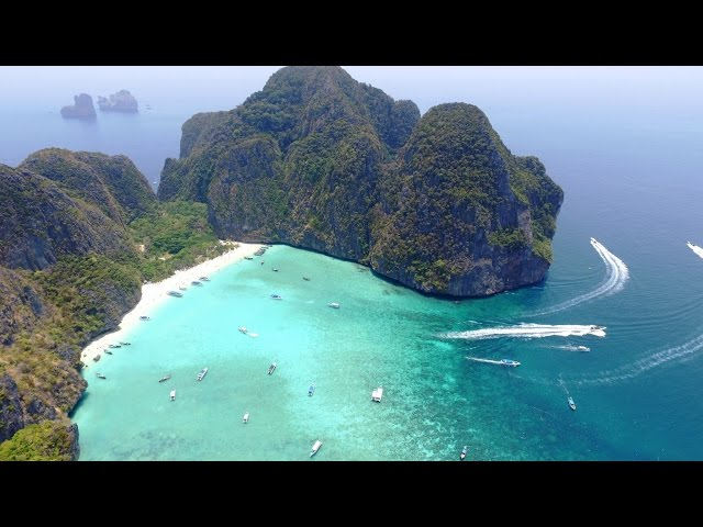 Ko Phi Phi Islands, Thailand in 4K Drone, Music Video Remixed [see more on: www.xploria.io]