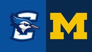 2019 College Basketball Creighton vs Michigan Highlights