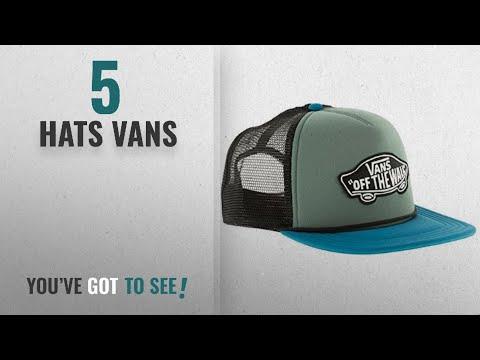 Top 10 Hats Vans [2018]: Vans Men's Classic Patch Trucker Baseball Cap, One Size
