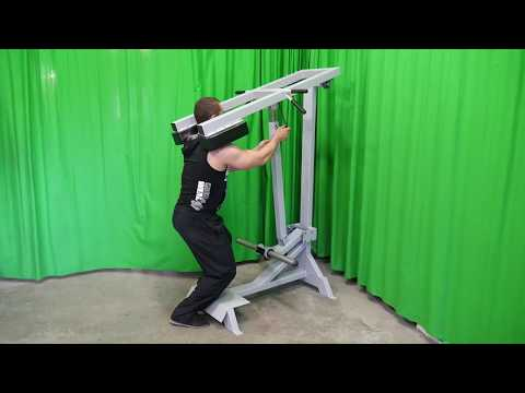 Lever Standing Tibia Raise (plate loaded)