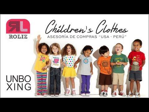 IMPORTAR ROPA ORIGINAL PARA NIÑOS DE USA│UNBOXING #RolizPerú