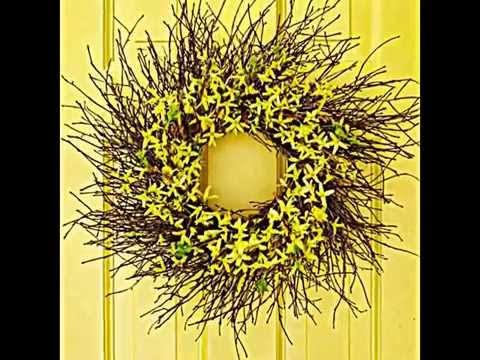 Herbst Türkranz aus natürlichen Materialien selber machen -- 22 Ideen