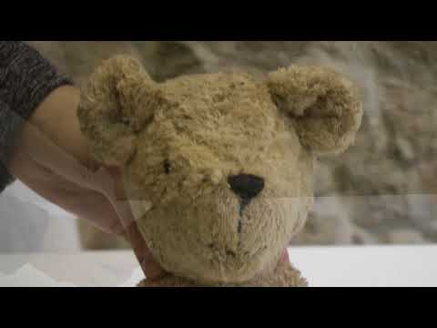 Vorschau: Schlenkertier Bär Polly natur