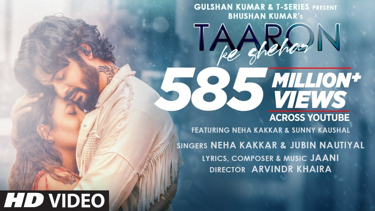 Taaron Ka Shehar Lyrics In Hindi| Neha Kakkar & Jubin Nautiyal Lyrics