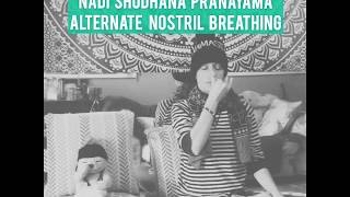 Peace on Earth Begins with Peace Within. Try Nadi Shodhana Pranayama, Alternate Nostril Breathing, t