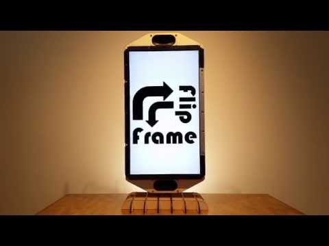 Build An Automatically Rotating Picture Frame That Matches Your Photo's Orientation