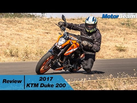 2017 KTM Duke 200 Review | MotorBeam