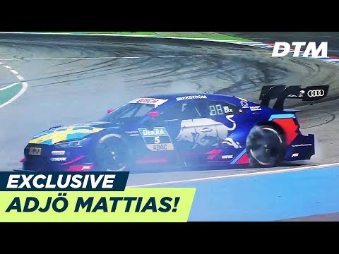 Adjö Mattias  - Ekström's final race - DTM Exclusive