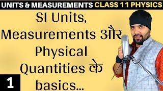 Basics of Units and Measurements for Class 11 Physics