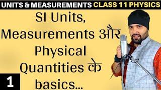 Basics of Units and Measurements for Class 11 Physics
