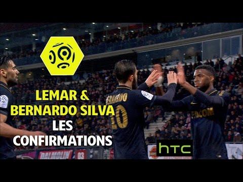Lemar / Bernardo Silva : les confirmations - AS Monaco 2016-17 - Ligue 1