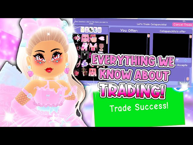 TRADING in ROYALE HIGH! Everything We Know So Far About Trading in Roblox Royale High School!