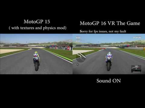 MotoGP15 vs Valentino Rossi The Game comparison