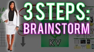3 Tips: HOW TO BRAINSTORM ► Brainstorming Techniques | Brainstorming Exercises ★ How to Brainstorm!