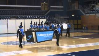 preview picture of video 'MillenniuM Drum & Bugle Corps 2009 - PERCUSSION CADENCE'