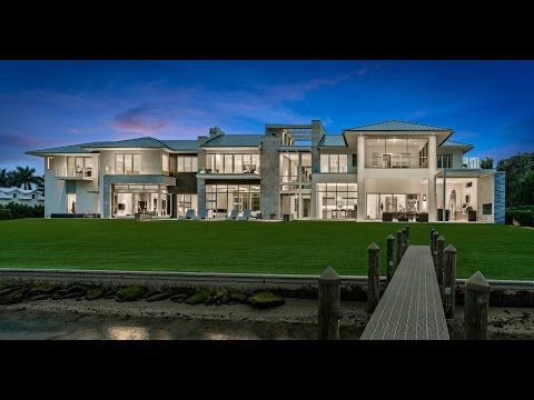 Ultra Modern Jupiter Florida Waterfront Estate