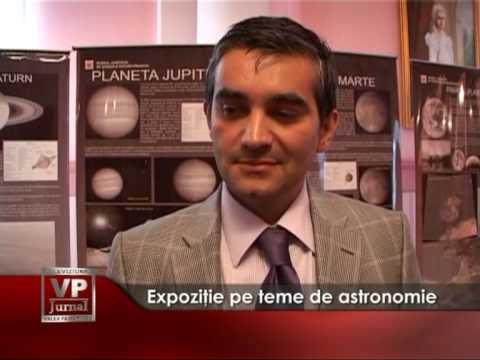 Expoziţie pe teme de astronomie