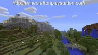 Ну и наконец игра MINECRAFT вышла на PS3 PS4 и PSvita