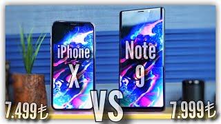 iPhone X vs Galaxy Note 9 Karşılaştırma!