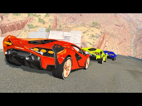 Epic High Speed Jumps #53 – BeamNG Drive | CrashTherapy