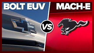 Electric SUVs compared! 2022 Chevy Bolt vs. Mustang Mach-E by Roadshow