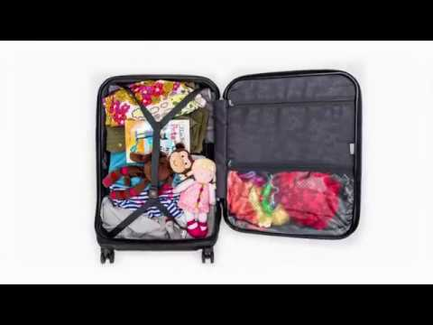 "Delsey Luggage Helium Shadow 3.0 25"" Exp. Spinner Trolley, Black"