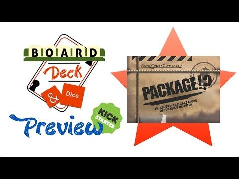 Board, Deck & Dice Preview #1 - Package!?