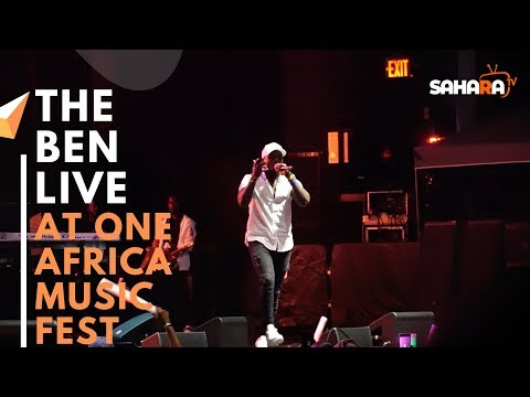 THE BEN Of Rwanda Performs Live At #ONEAFRICAMUSICFEST NYC 2019