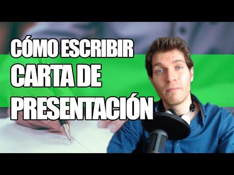 Cómo Escribir una Carta de Presentacion