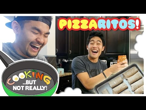 Cooking, But Not Really: PIZZARITOS!