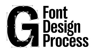 Type Design Process: Making Right Grotesk Font In Glyphs