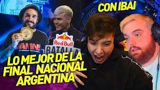 IBAI Y KAPO REACCIONAN A LA RED BULL NACIONAL ARGENTINA 2020 (MEJORES MOMENTOS)