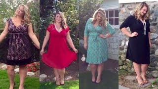 Flirty Formal For Fall | Plus Size Dresses Lookbook