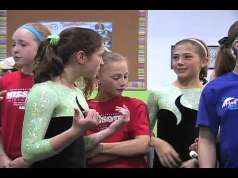 Screenshot for video: Scoliosis- 12 yr old gymnast who has Scoliosis